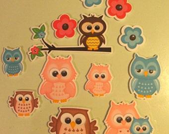 OWL set of die cuts