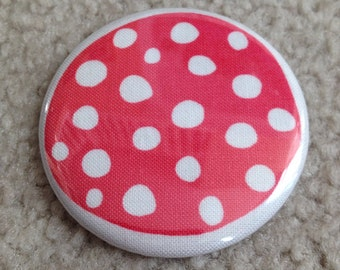 Island Girl Bags - Fabric Covered Pocket Mirror 2.25 inches in Paula Prass