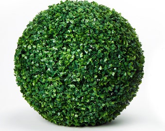 Topiary Ball, boxwood ball, boxwood topiary ball, artificial plants (item: 25-0230, 25-0243