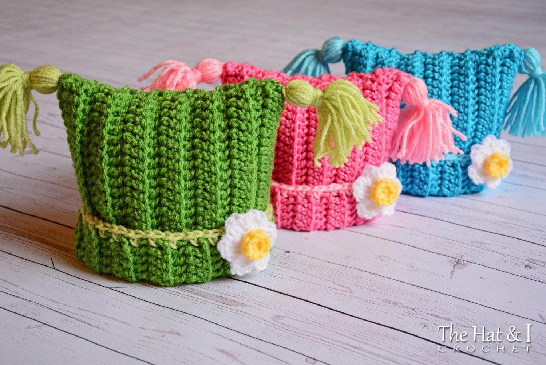Crochet Hat PATTERN - Winter Whimsy - crochet pattern for boys ...