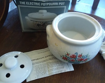 Vintage Electric Potpourri Pot