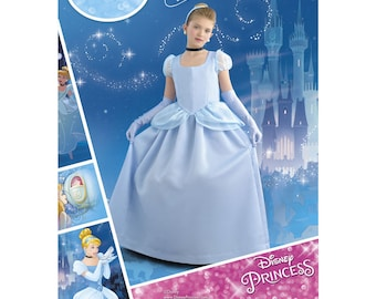 Simplicity Sewing Pattern 8490 Child's and Girl's Cinderella Costume