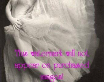 SHOWGIRL BALLERINA Ballet Vintage Photo Reprint