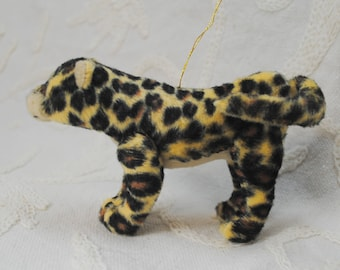 Leopard or Jaguar Stuffed Animal Christmas Tree Ornament