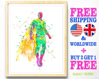 Avengers Superhero Vision Watercolor Art Poster Print - Home Art - Wall Decor - Gifts - Watercolor Painting - Kids Decor - Illustration -125