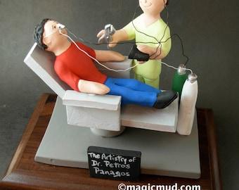 Oral Surgeon's Gift - Custom Made Dental Figurine  Custom Made Dentist Gift- Dental Figurine - Personalized Dentist Graduation Gift Figurine
