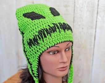 Crochet Nightmare Before Christmas Hat - Boogie Man - Halloween - Costume