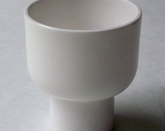 Toot Medium Cup. Handmade in England by Wendy Tournay. Contemporary Luxury Slip Cast Fine Bone China. Perfect Wedding Gift.