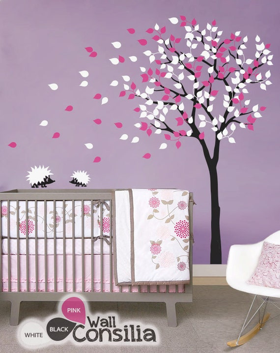 baby nursery wall decals tree wall decal tree decal