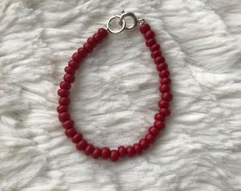 Cherry Red Bracelet