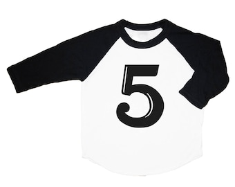 Fifth Birthday Shirt, Five Year Old Birthday Shirt, Toddler t-shirt, Trendy kids clothes, Hipster kids clothes, Birthday Tee, Five