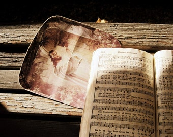 Religious Photography - Hymnbook Fine Art Photograph - Blessed Assurance Print - Christian Hymn Art