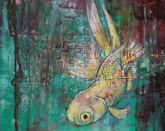 Art Card: Dappled Goldfish