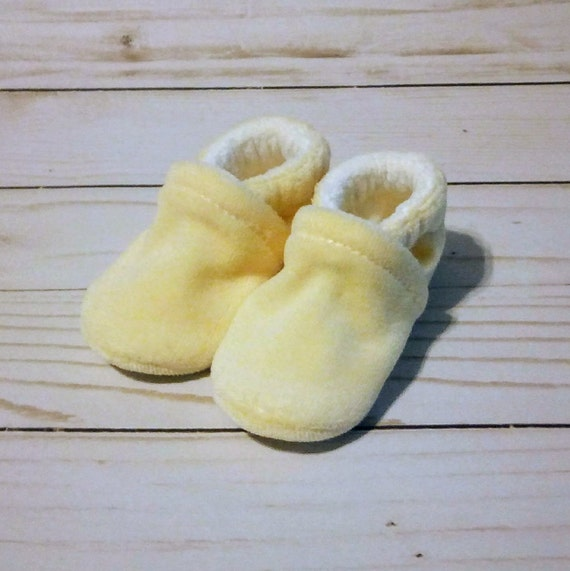 Butter Yellow: Soft Sole Baby Shoes 0-3M