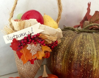 Autumn Party Favor Cone