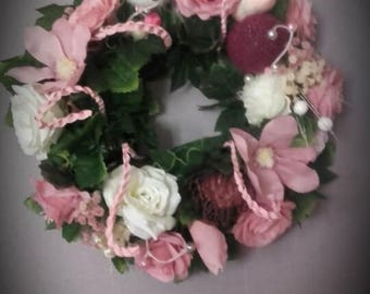 wreath shabby chic and romantic french