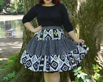 Boogie Woogie Skirt - Pin Up Rockabilly Skirt