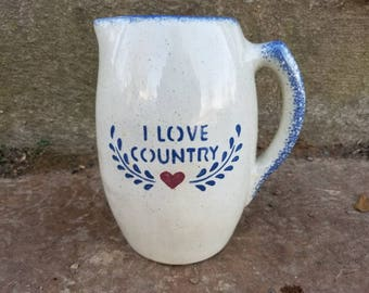 I Love Country - A Pitcher
