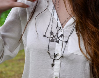 The Archer. necklace