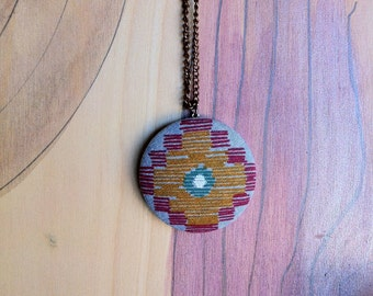 Four Corners Sun Necklace