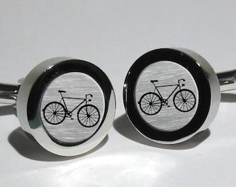 Bicycle cufflinks,Cyclist cufflinks,Bike cufflinks,Sport Bicycle,Bike Jewelry,Cyclist Gift,Mens Gift,Tour De France cufflinks