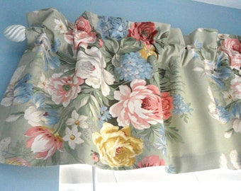 Valance Window Valance Housewares Window Treatment Kitchen Valance Floral Tapestry Upholstery Fabric Draperies Curtain Home Decor