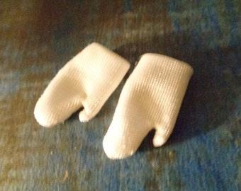 Silkstone/Barbie/Skipper/White cools gloves/ 90s