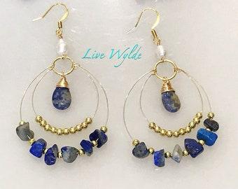 Gorgeous Lapis Lazuli Earrings!