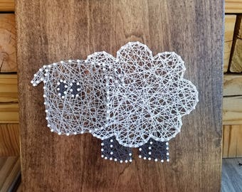 Sheep String Art