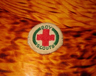 Vintage Boy Scouts First Aid Merit Badge