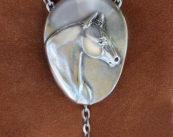 Quarter Horse lariat necklace