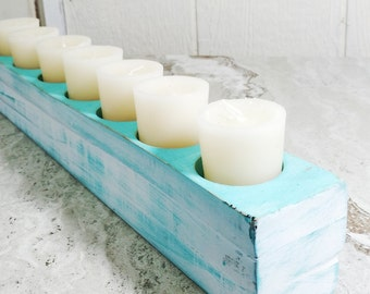 Coastal 7 Candle Holder