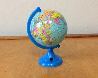 World Pencil Sharpener - Plastic