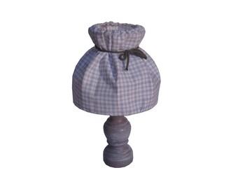 Bedside lamp Bohemian purple