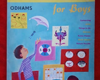 Vintage Make-and-do Activity Book 1965
