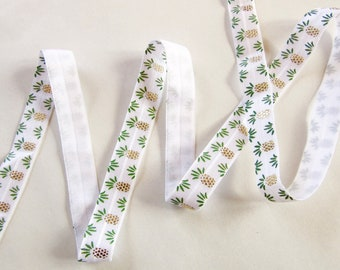 50cm Elastic ribbon - Pineapple
