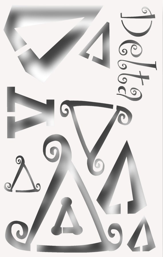 All greek letters-5218