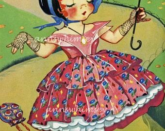 Nursery Art, Girll Nursery Art, Nursery Art Print, Nursery Wall Art, Nursery Wall hanging   #264  (Set 3)