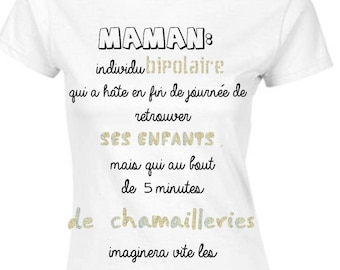Mothers day gift MOM humor tshirt birthday
