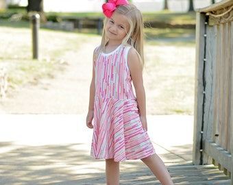 Girls clothes for summer - girls outfit for summer - toddler girls outfit for summer - tween girls dress - girls dress for twirling