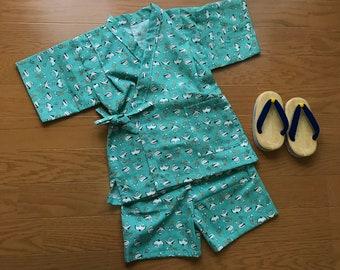 Baby jinbei, baby Kimono , toddler kimono , toddler jinbei