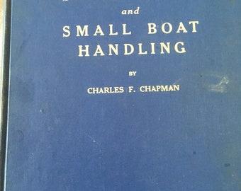 Vintage 1960's Hardback Copy of Piloting Seamanship and Small Boat Handling by Charles F. Chapman