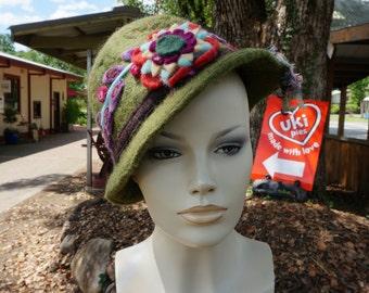 Merino Felted Hat