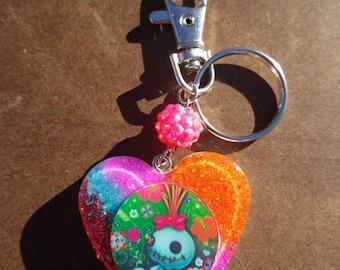 Kawaii Scrump charm, keychain, backpack charm