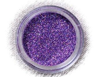 Hologram Lavender Disco Glitter, Purple Fondant Glitter, Non Edible Confectionary Glitter, Fine Gumpaste Glitter, Deep Purple Glitter (5g)