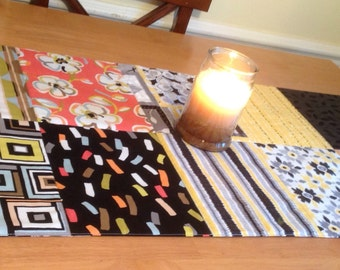 Cheerful Quilted Table Runner
