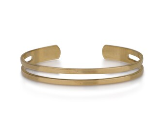 Open Band Cuff Bracelet