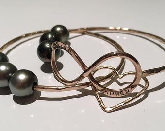 infinity Bangle (plain no pearl)