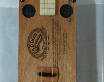 3-String Cigar Box Guitar