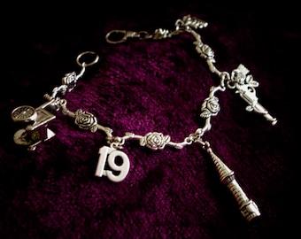 Dark Tower Charm Bracelet